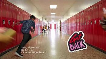 macys tv commercial    school hallway dance