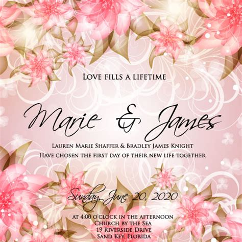 marriage invitation card maker free 8 fab free wedding invitation templates adobe illustrator
