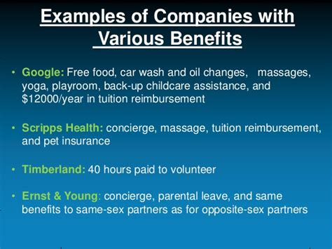 Deloitte Mba Reimbursement by Employees Benefits Pros Cons