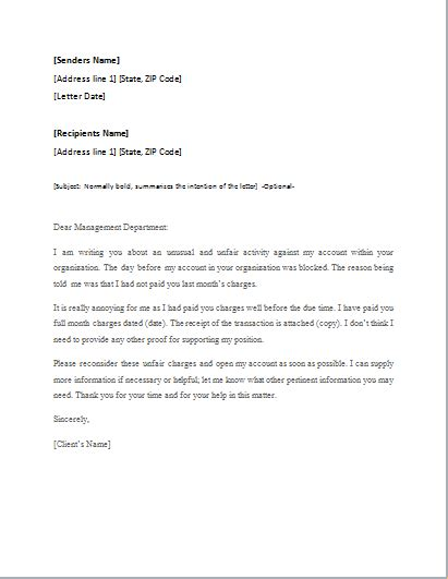 5 Letter Words From Appeal appeal letter template for word word excel templates