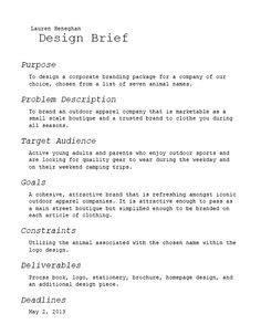 design brief branding 1000 images about design brief on pinterest briefs