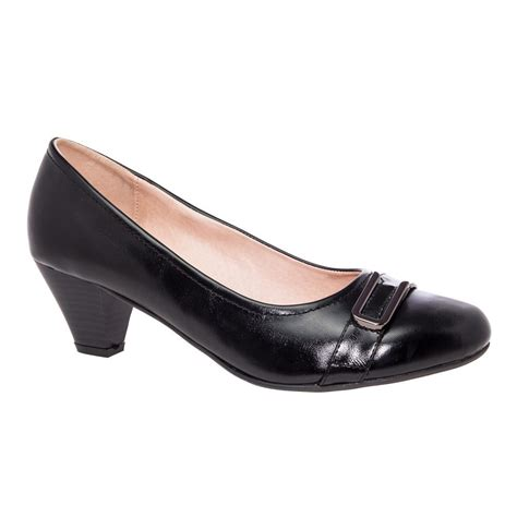size 9 high heels wide fit wide fit black court shoes cinderella shoes
