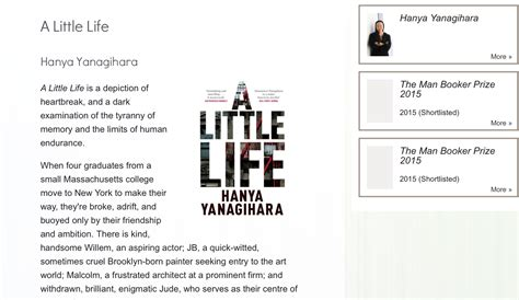 libro a little life shortlisted a little life less ordinary the psychologist