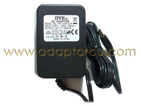 Adaptor Dc 12 Volt 6 Ere notebook adapt 246 r 12 v 0 5 a 6 w adapt 246 r