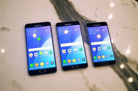 Samsung A Series Samsung S 2016 A Series Phones Bring Flagship Looks And