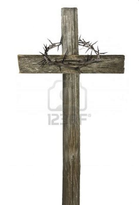 thorn cross tattoo wooden cross with crown of thorns crosses