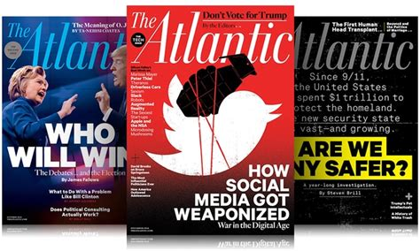 10 Magazine Subscriptions by Quot The Atlantic Quot Subscription Blue Dolphin Magazines Groupon