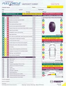 Used Car Checklist Canada Multi Point Inspection Form Mazda Buy Now Este