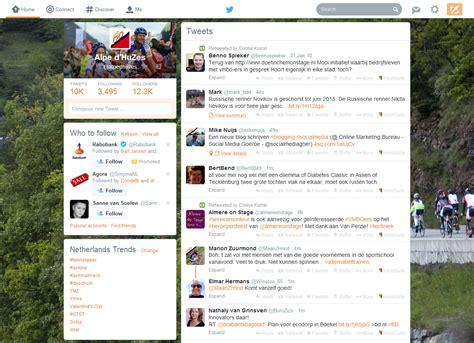 Nieuwe Layout Twitter | nieuwe lay out twitter wat zijn de voordelen