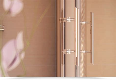 box doccia semicircolare 75x75 box semicircolare 75x75 cm apertura reversibile cristallo