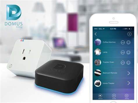 domus an affordable smart home automation system gadgetsin