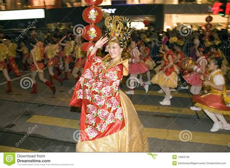 new year hong kong parade hong kong new year parade editorial stock photo image