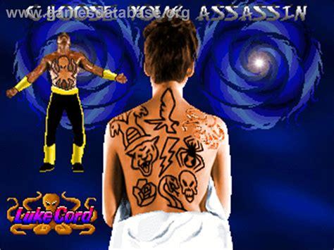 tattoo assassins video game tattoo assassins arcade games database