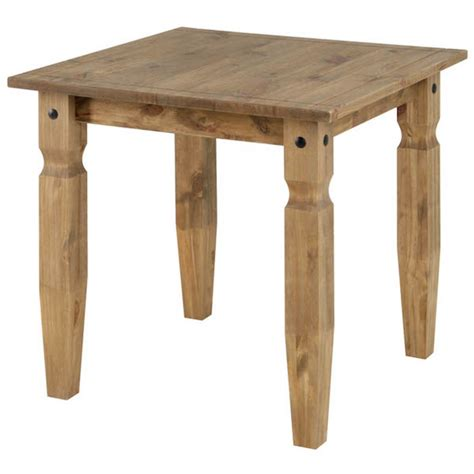 Small Pine Dining Table Corona Small Dining Table