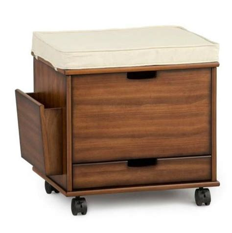 Rolling Storage Ottoman Craft Home Office Rolling Storage Cart File Cabinet Ottoman Furniture 4 Colors