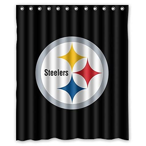 steeler shower curtain steelers curtains pittsburgh steelers curtain steelers