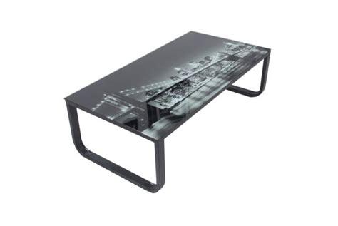 plateau verre table basse avec plateau verre eastriver design sur sofactory