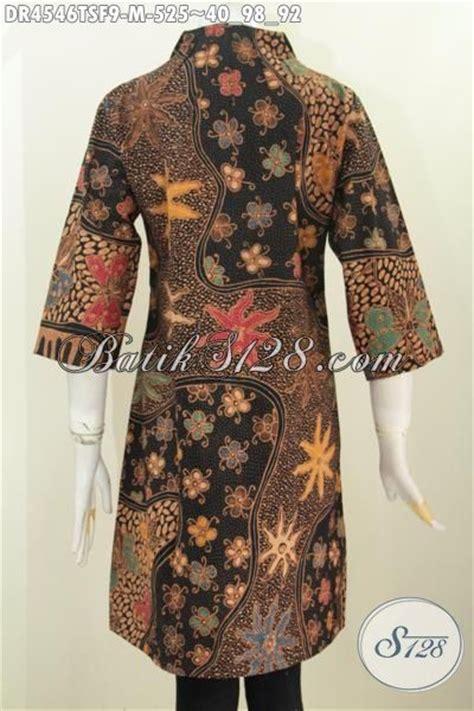 desain baju batik seragam busana batik wanitas muda kwalitas mewah baju dress