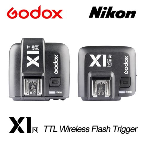 Godox X1n Ttl Wireless Flash Trigger For Nikon aliexpress buy godox x1n ttl 2 4ghz wireless transmission with screen flash trigger