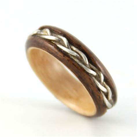 Wooden Wedding Rings by Awesome Wood Wedding Ring For The Of Rings