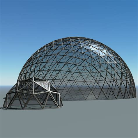 geodesic dome geodesic domes obj
