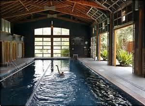 the barn spa indoor barn pool lake spa interior barn doors