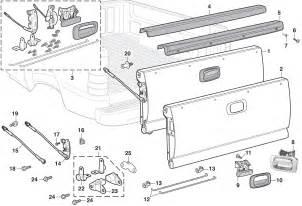 Chevrolet Parts Chevy Silverado Tailgate Latch Parts Autos Post