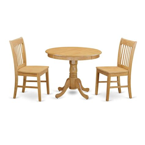 Set Of Small Table Ls by 3 Pc Dining Room Set Small Kitchen Table And 2 Dining Chair