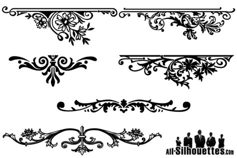 Large Letter Stickers For Walls floral ornaments graphic design download free vector art