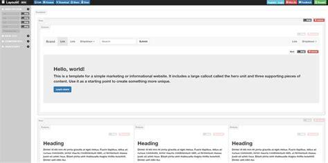 layout it 11 sites 224 conna 238 tre pour cr 233 er un template bootstrap