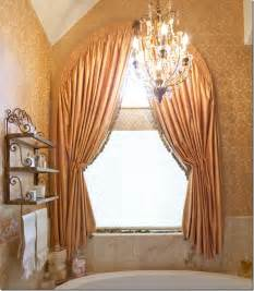 Curtains For Arched Windows Arch Window Treatment Window Dressing