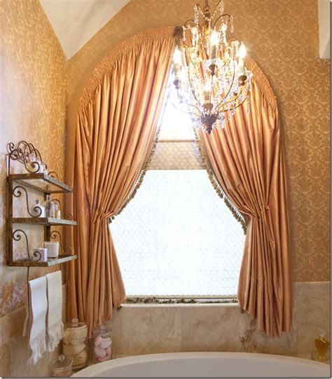 round window curtains arch window treatment window dressing pinterest