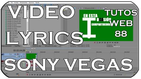 sony vegas pro lyrics tutorial intros lyrics editable sony vegas 11 12 y 13 tutorial