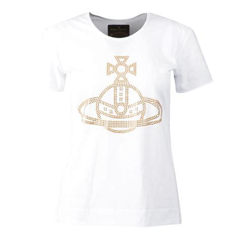Vivienne T Shirt vivienne westwood anglomania stud orb t shirt masdings