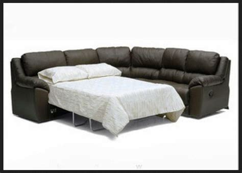 leather sectional sofa with sleeper leather sectional sleeper sofa smalltowndjs com