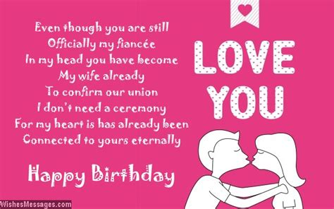 fiance poems birthday poems for fiancee wishesmessages