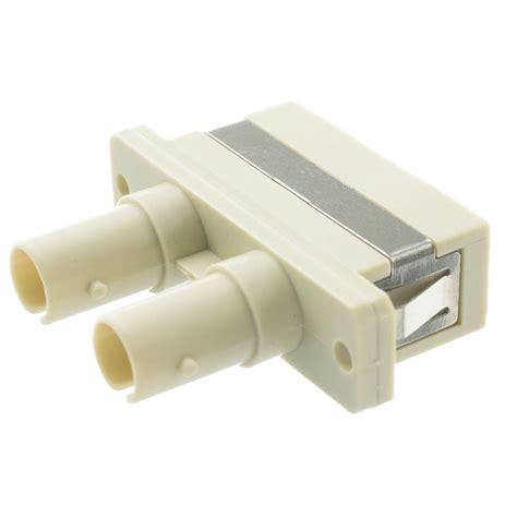 Adapter Fiber Optic Sc st to sc fiber optic adapter duplex