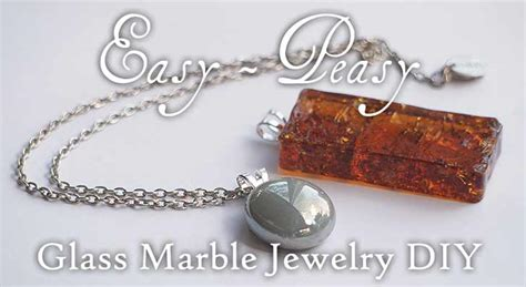 how to make glass jewelry make easy glass marble jewelry woo jr activities