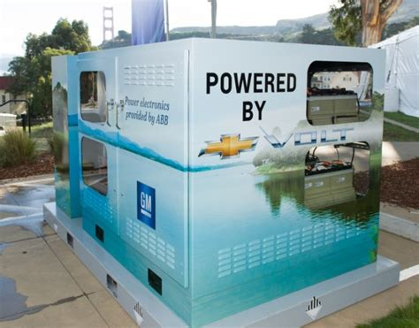 gm turns your chevy volt battery into a whole house