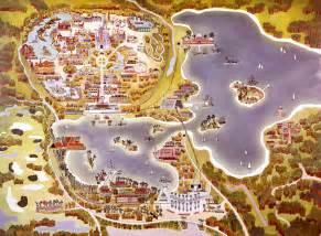 Disney World Map Of Resorts by Disney Parks Vintage Walt Disney World Old Maps Of Walt