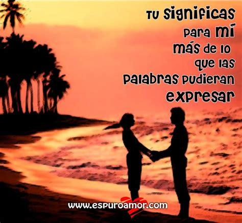 imagenes tiernas de amor para compartir en facebook pareja de la mano en atardecer de playa con frase de amor