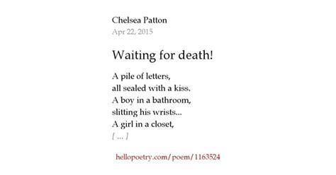 Bathtub Gun Waiting For Death By Chelsea Patton Hello Poetry