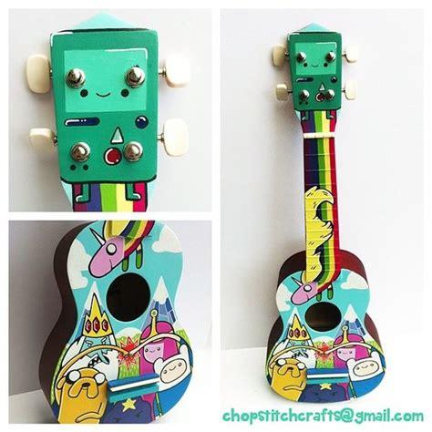 ukulele tutorial adventure time custom ukuleles tumblr