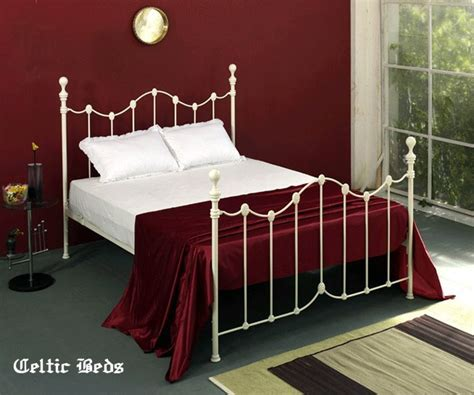 white iron beds celtic wrought iron beds white iron beds