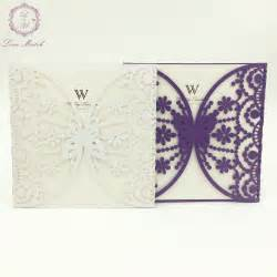 Wedding Invitation Cards Alibaba by Get Cheap Butterfly Wedding Invitations Aliexpress