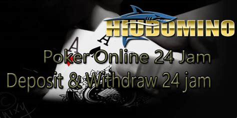 poker deposit  jam  offline hiudomino