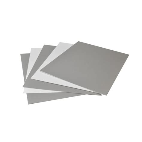 11x14 Mat Board by Arista Mat Board 11x14 4 Ply Tv Gray White 25 Pack