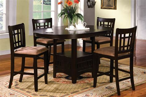 bar height kitchen table set bar height kitchen table and chairs counter dining sets