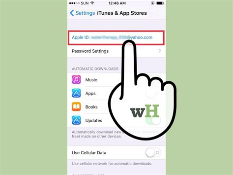 how to change itunes account on iphone how to change itunes account on an iphone 4 steps with pictures