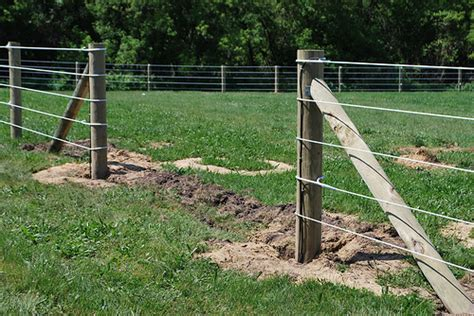 electric fence installation ramm electric fence installation project flickr photo